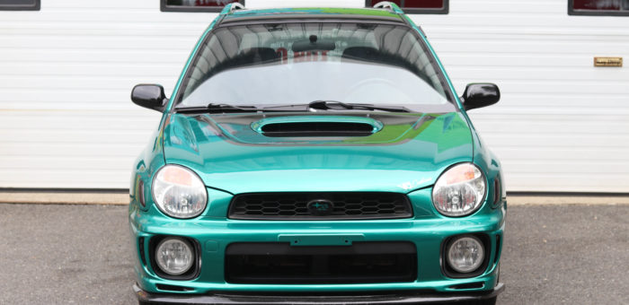 Project WRX Bugeye Wagon Underway – Avery Dennison