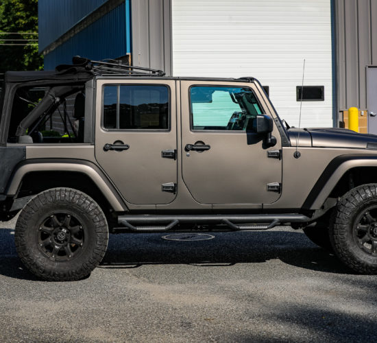 2017 Jeep Wrangler 3M | Matte Charcoal Metallic