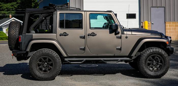 2017 Jeep Wrangler 3M | Matte Charcoal Metallic